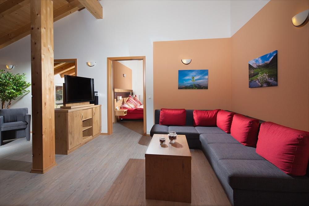 Ferienwohnung Watzmann mit 2 Schlafzimmern und Südbalkon, barrierefrei